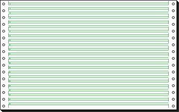 """Endlospapier 12/"""" 2-fach blanko 60 g//qm 1.000 Satz weiß selbstdurchschreibend"""
