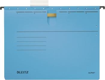 5x Leitz Alpha Hängehefter 1984 rot kaufmännische Heftung
