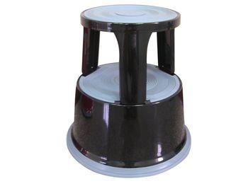 Q Connect Rollhocker Aus Metall Gewicht 5 Kg Schwarz Biener