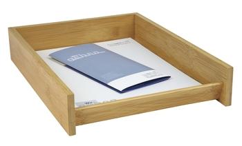 Wedo Briefkorb Bambus Luthe Büroorganisation