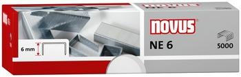 Stahldraht verzinkt NE6 5000 Stück für Elektrotacker Novus® Heftklammern Nr