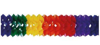 4er Pack /Ø 5 cm x 60 cm Girlande Rotorspirale Regenbogen