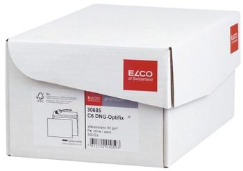 Elco Briefumschlag Office Box Mit Deckel C6 Weiss Haftklebend