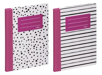 Heftbox A4 Pink Star sortiert