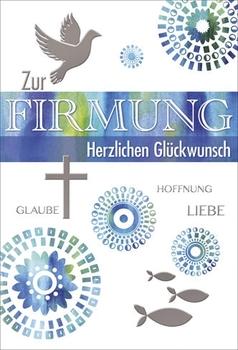 Firmung Karte.Franz Weigert Firmungskarte Inkl Umschlag Geprägt Hemmer