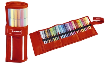 STABILO Fasermaler Pen 68 ColorParade 20er Klappbox türkis