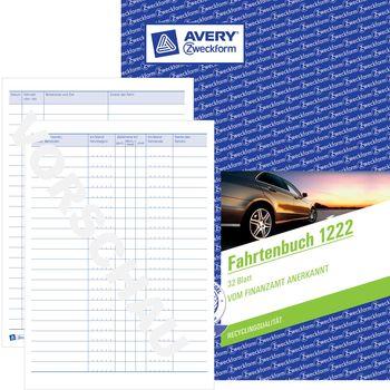Pkw mit Jahresabrechnung 5x AVERY Zweckform Fahrtenbuch 223 Formularbuch