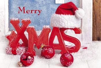 Weihnachtsgrüße Englisch.Paper Design Grußkarte Weihnachtswünsche Englisch Ohana