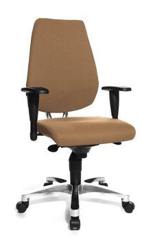 Topstar® Fitness Design Drehstuhl SITNESS 30 braun Büro