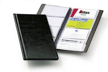 Durable Visitenkartenbuch Visifix 96 115 X 253 Mm Schwarz