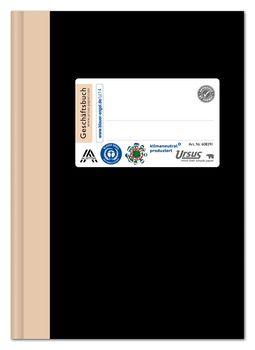 Ursus Green Geschäftsbuch A6 96 Blatt 80g Qm 5 Mm
