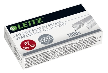 LEITZ Mini-Heftgerät Nexxt 5517 rot für No.10 Heftklammern
