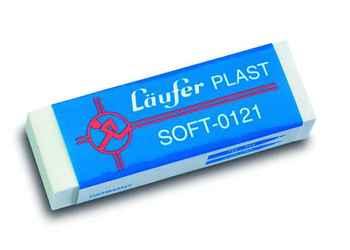 B x H x T mm Läufer; #Radierer# 0... Radierer Plast transparent 65 x 21 x 12,
