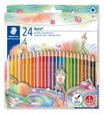 Sonstige Mal- & Zeichenmaterialien für Kinder 1274 KP50 STAEDTLER Farbstift Noris Club 4 mm gelb rot blau Köcher mit 50