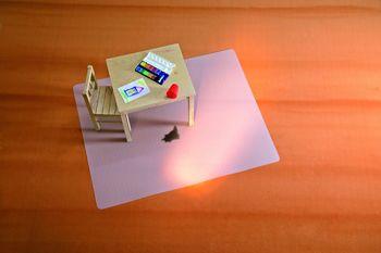 Rs Office Products Bsm Bodenschutzmatte Milchig Für Teppichböden