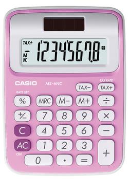 Taschenrechner 8-stellig pink