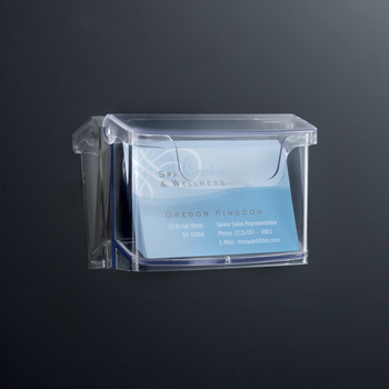 Sigel Outdoor Visitenkartenhalter Acrylic 96x60 Mm 60