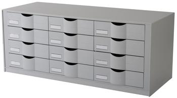 Paperflow Schubladenelement Für Rolladenschrank Easyoffice Grau