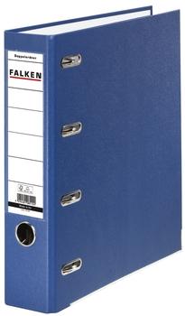 2x A5 quer Falken Doppelordner 70 mm blau