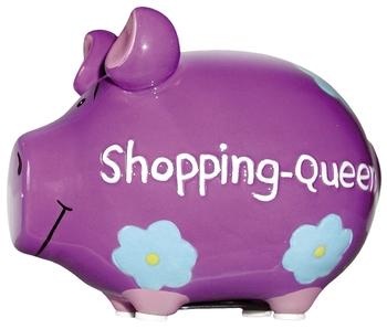 Kcg Spardose Schwein Shopping Queen Keramik Klein Bcb Buro