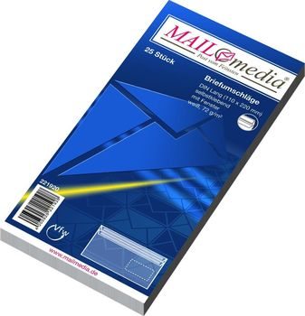 Mailmedia Briefumschläge Din Lang 220x110 Mm Mit Fenster