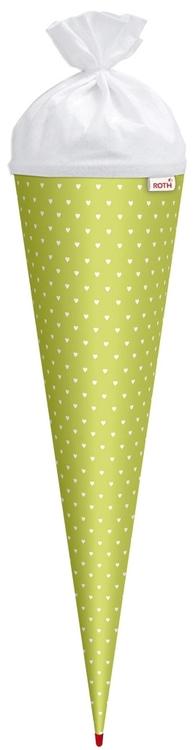 Schultüte  60 cm rund Dalmatiner  Zuckertüte Tüllverschluß
